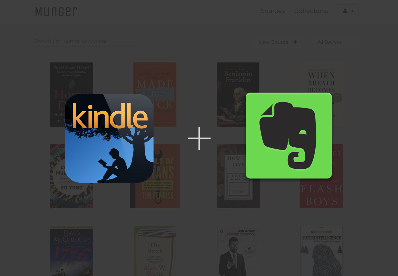Kindle evernote